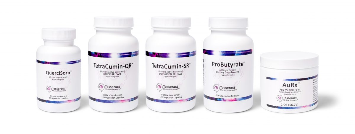 Tesseract products AuRx and ProButyrate